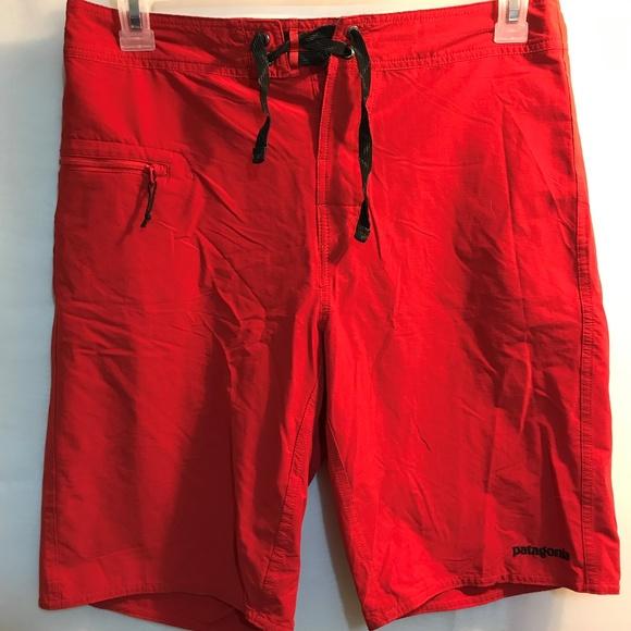 e23ecc392f Patagonia Shorts | Mens Size 32 Red | Poshmark